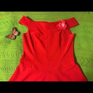 Ruby Rox Red Dress